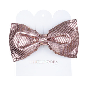 Bow Hairclip (rose gold)
