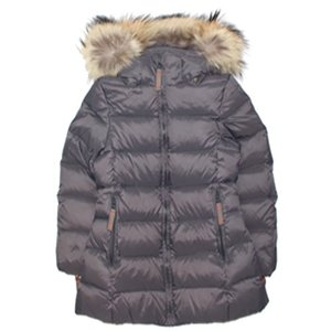 Featherlight Girl Coat #438 Anthracite