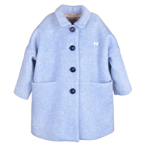 Cocoon Coat (blue haze)