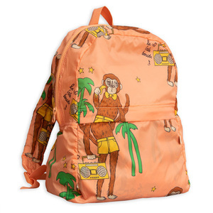 Monkey Lightweight Backpack (pink)