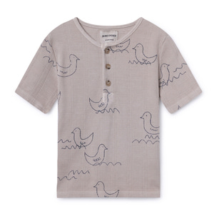 Geese Buttons Tshirt #22