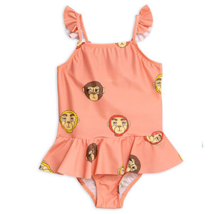 Monkey Skirt Swimsuit
