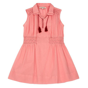 [3,4y]Brezel Dress (candy pink)
