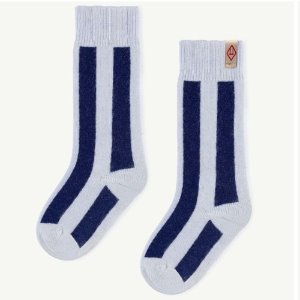 Skunk Socks (blue)
