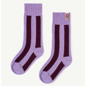 Skunk Socks (purple)