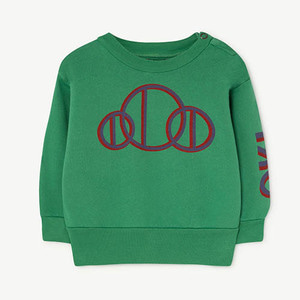 Bear Baby Sweatshirt 984_177 (green circle)