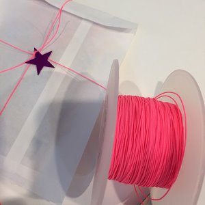 String Roll - neon pink