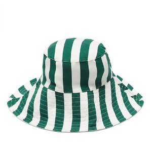 Green Stripe Hat #112
