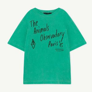 Rooster Oversized Tshirt 1133_197 (green animals)
