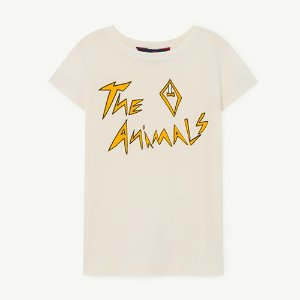Hippo Tshirt 1134_009 (white animals)