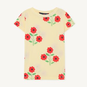 Hippo Tshirt 1134_081 (yellow flowers)