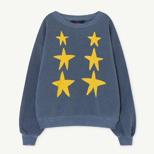 Bear Sweatshirt 1139_161 (blue stars)