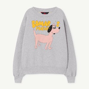 Bear Sweatshirt 1165_185 (grey dog)