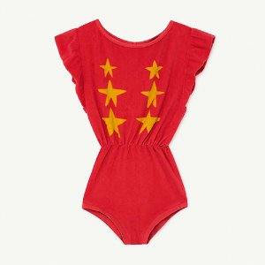 [6y]Koala Jumpsuit 1150_006 (red star)