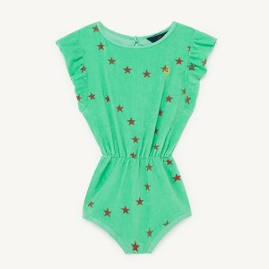 Koala Jumpsuit 1150_196 (green star)