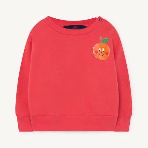 [12m]Bear Baby Sweatshirt 1140_006 (red fruit)