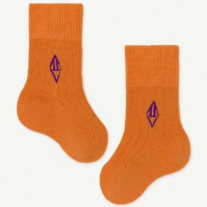 Skunk Baby Socks 1276_037 (orange)