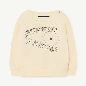 [18m]Bear Baby Sweatshirt 1140_081 (yellow observatory)