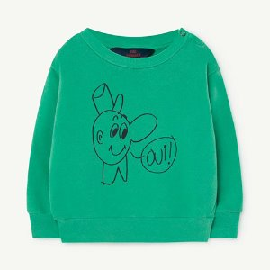 [12m]Bear Baby Sweatshirt 1140_197 (green oui)