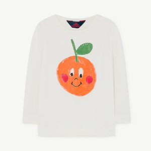 Deer Swim Tshirt 1271_036 (white fruit)