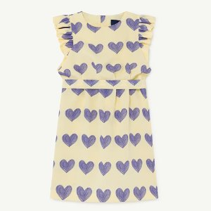 Weasel Dress 1198_099 (yellow hearts)