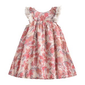 [2월초입고] Dress Janice (pink flower)