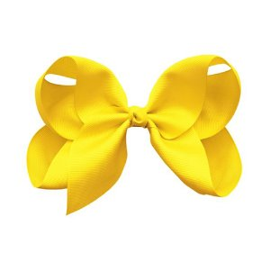 Jumbo Boutique Bow Daffodil