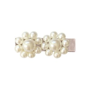 2 Pearls Flower Clip Carmandy