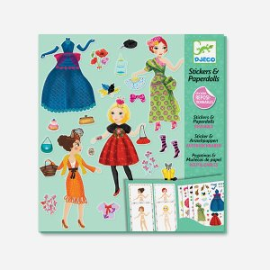 Reusable Stickers Paperdolls
