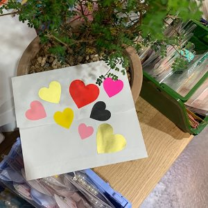 Heart Sticker (8color/72ea)