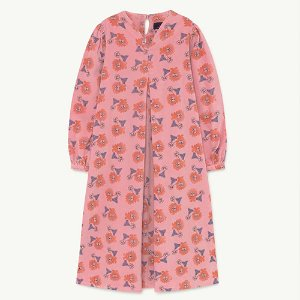 Giraffe Dress 1338_152 (pink lions)