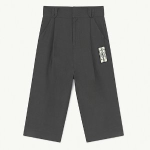 [8/10y]Emu Twill Trouser 1364_039 (black animals)