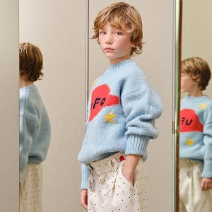 Space Bull Sweater 1399_074 (soft blue)