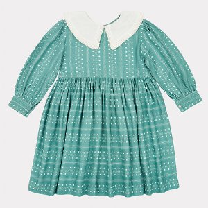 Buzzard Dress (teal)