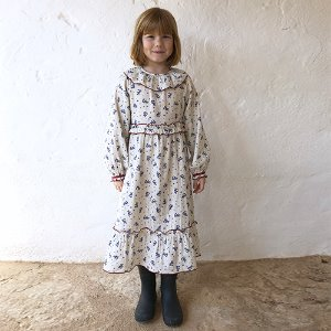 Oana Dress #58 (winter blossom)