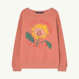 [4/12y]Bear Sweatshirt 20002_137 (rose eau d'amour)