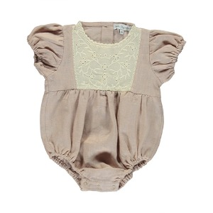 Amelia Romper (dusty rose)