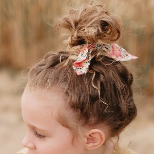 Scrunchie Kimmi Pink Meadow