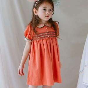St Ives Dress (butter orange)