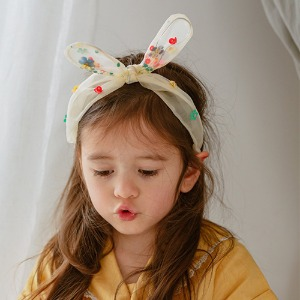 Eva Hairband (dreaming yellow)