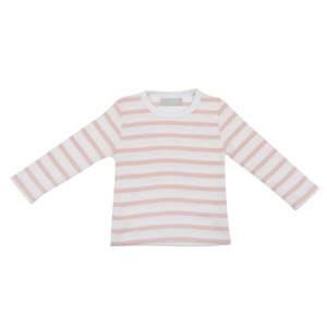 Dusty Pink Stripeed Tshirt