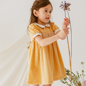 St Ives Dress (cream yellow)