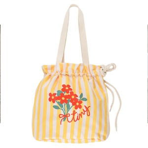 Tiny Flowers Beach Bag #394