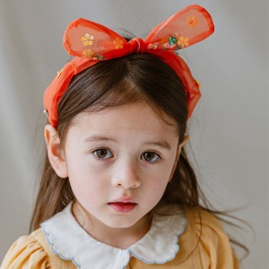 Eva Hairband (dreaming orange)