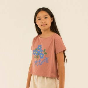 Tiny Bouquet Crop Tshirts #33