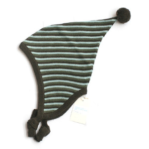 Marie chantal Multi stripe knitted hat (green)