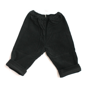 Zef baby corduroy trousers (black)
