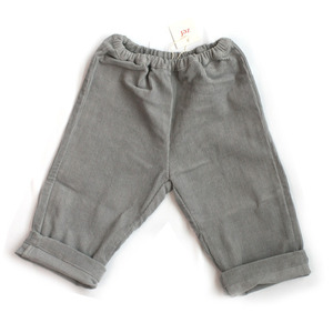 Zef baby corduroy trousers (grey)