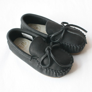 Pepe Moccasin (black)