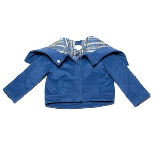 Kicokids padded bomber with hood/shawl collar